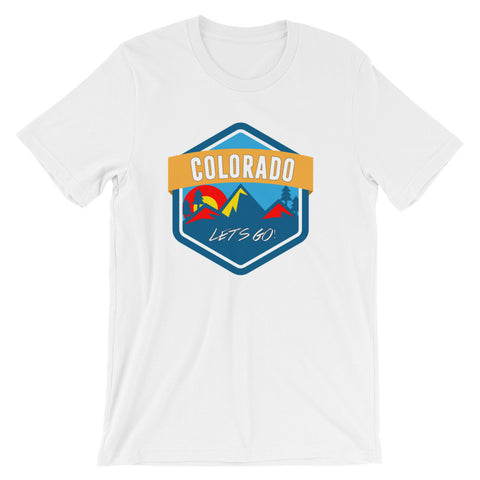 Colorado Let's Go! Cotton tee