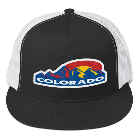 Colorado Mountain Sun Trucker Cap