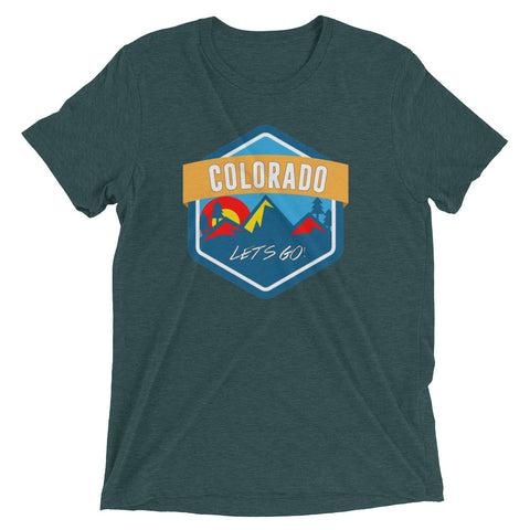 Colorado Let's Go! Triblend tee