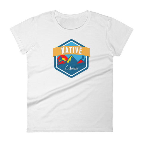 Colorado Native Women's cotton tee