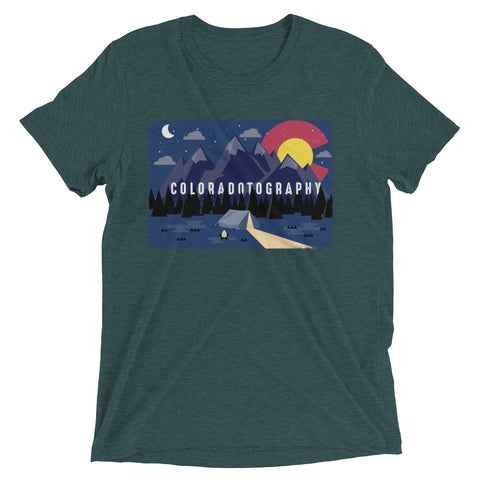 Camp Coloradotography Tri-blend Tee