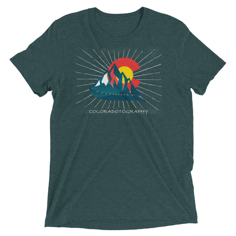 Coloradotography Sunbeam Tri blend tee