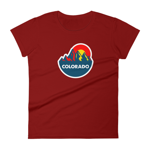 Colorado Mountain Sun Women's tee