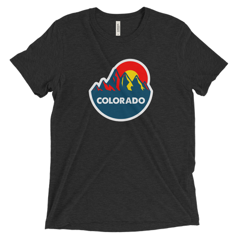 Colorado Mountain Sun tri-blend shirt