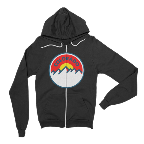 Colorado Sunset Hoodie Zipper