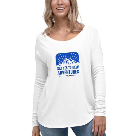 Yes to Adventure Women's Long Sleeve Tee