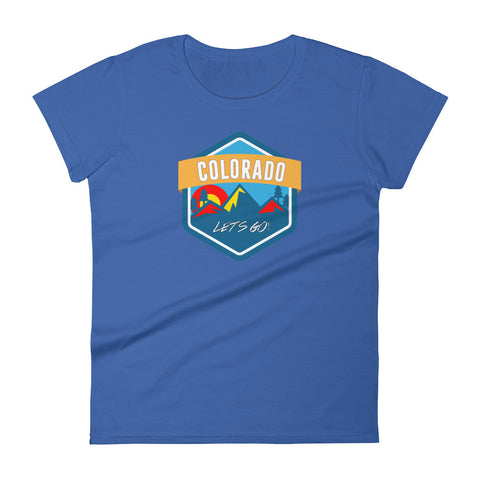 Colorado Let's Go! Women's tee