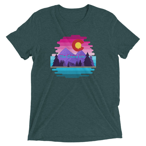The Camp Life Tri-Blend Tee
