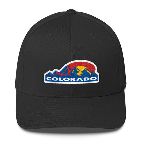 Colorado Mountain Sun Structured Twill Cap