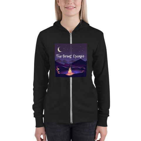 The Great Escape Ladies zip hoodie