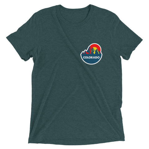 Colorado Mountain Sun 2.0 Tri-Blend tee