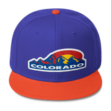 Colorado Mountain Sun Wool Blend Snapback