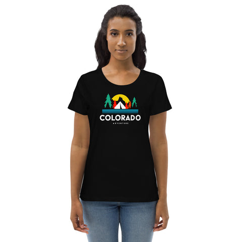 Colorado Adventure Women's fitted eco tee