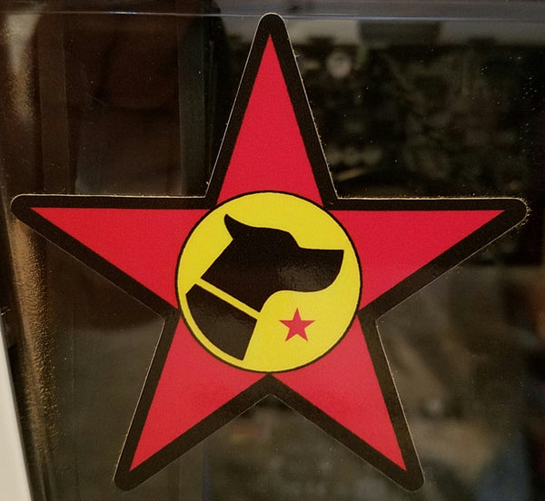 Dogspotting Society Star Sticker