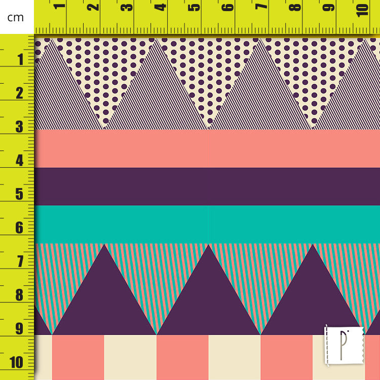 Estampa Decorative Stripes - 2