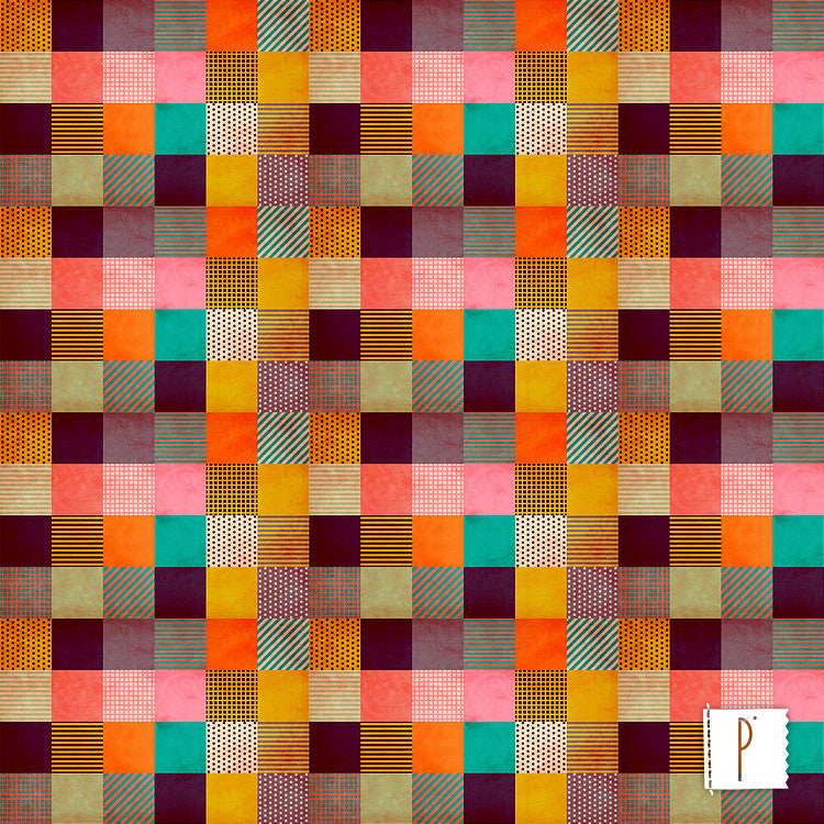 Estampa Decorative Pixel