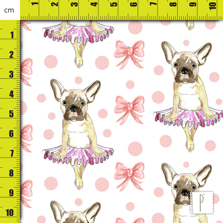Estampa French Bulldog Ballet - 2
