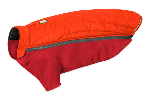 Ruffwear® | Powder Hound™ Hybrid Insulated Dog Jacket - Sockeye Red