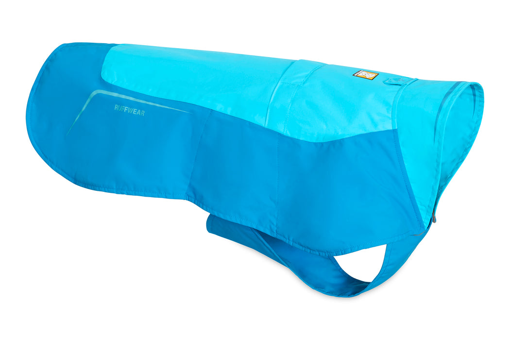 Ruffwear® | Vert™ Waterproof/Windproof Dog Jacket - Blue Atoll