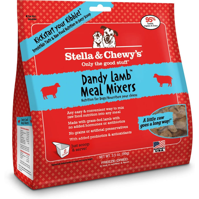Stella & Chewy's® | Dandy Lamb™ Meal Mixers Freeze-Dried Dog Food