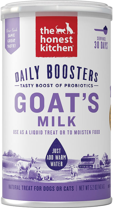 The Honest Kitchen | Daily Boosters Instant Goat Milk Plus Probiotics for Dogs & Cats
