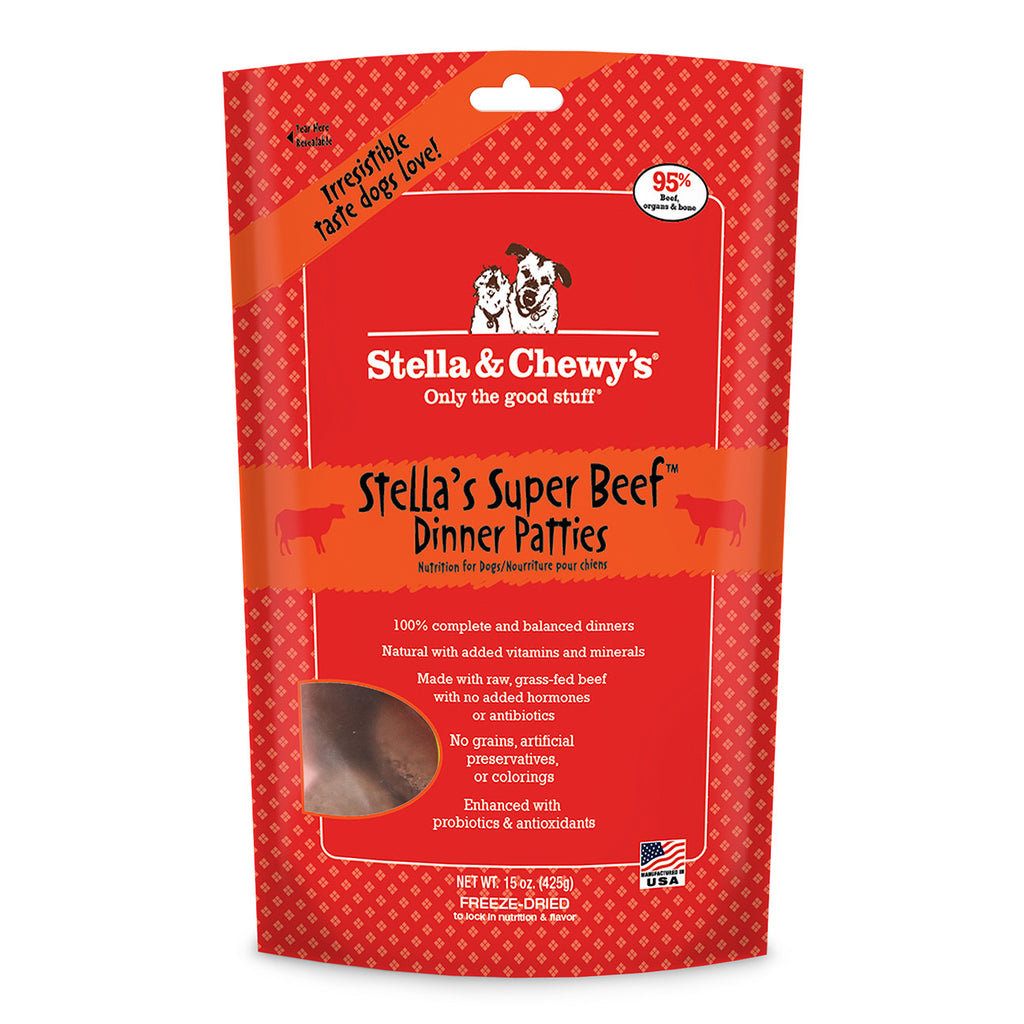 Stella & Chewy's® | Stella's Super Beef™ Freeze-Dried Dog Food