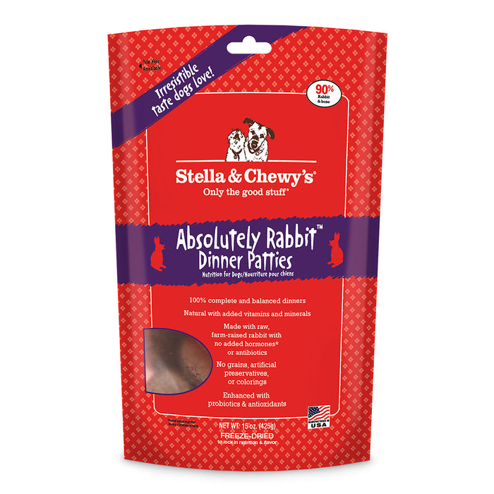 Stella & Chewy's® | Absolutely Rabbit™ Freeze-Dried Dog Food