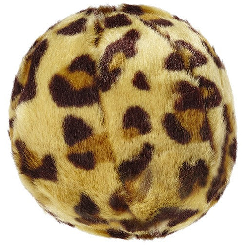 Fluff & Tuff® Dog Toy | Leopard Ball