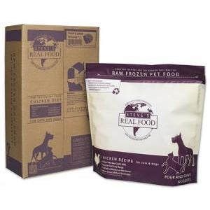 Steve's Real Food | Raw Pet Food - Chicken Diet for Dogs & Cats (Local Delivery ONLY - Will Not Ship)