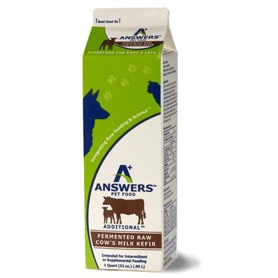 Answers | Raw Cow Milk Kefir (Local Delivery ONLY - Will Not Ship)