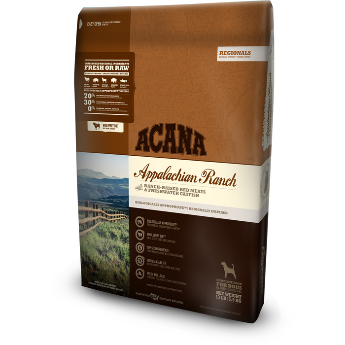 ACANA | Appalachian Ranch Regionals Formula Grain-Free Dry Dog Food