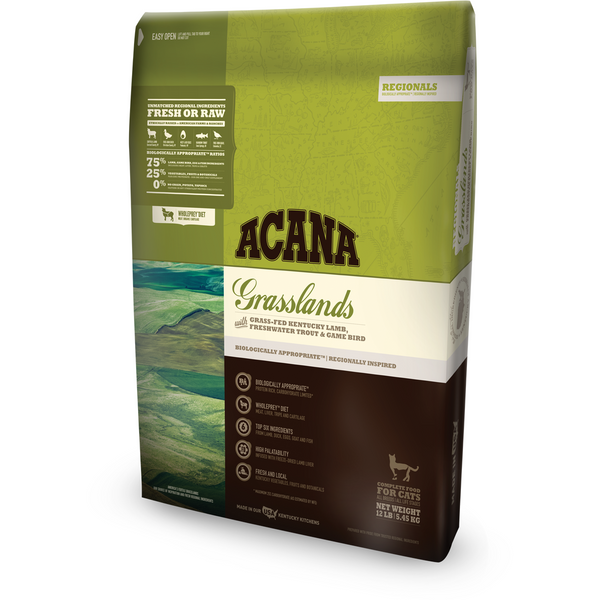 ACANA | Grasslands Regional Formula Grain-Free Dry Cat Food