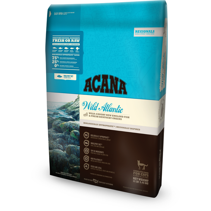 ACANA | Wild Atlantic Regional Formula Grain-Free Dry Cat Food
