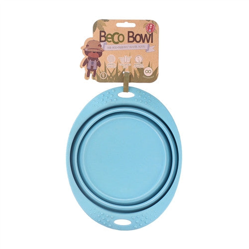 Beco | Collapsable Travel Bowl - Blue