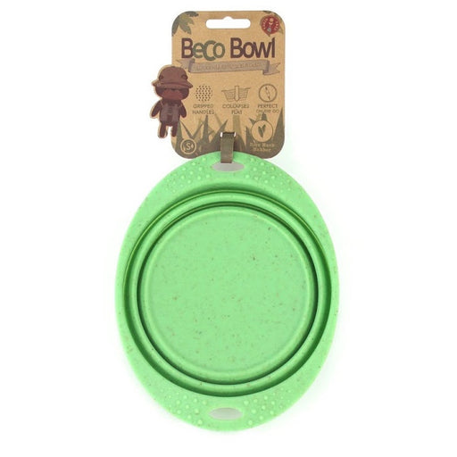 Beco | Collapsable Travel Bowl - Green