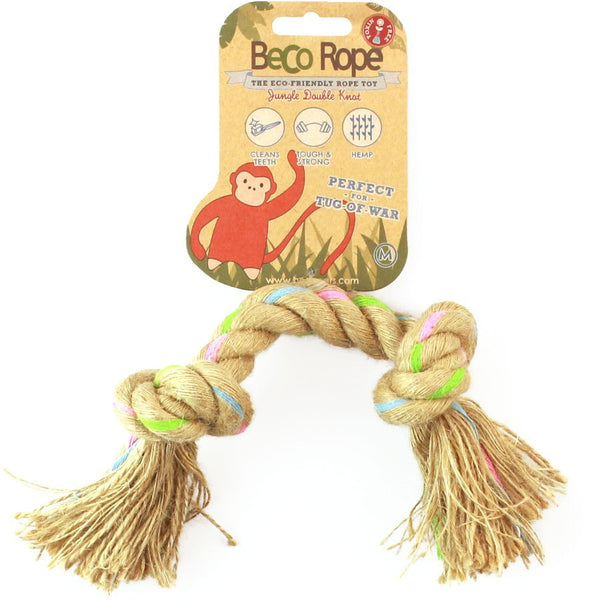 Beco | Double Knot Rope Dog Toy