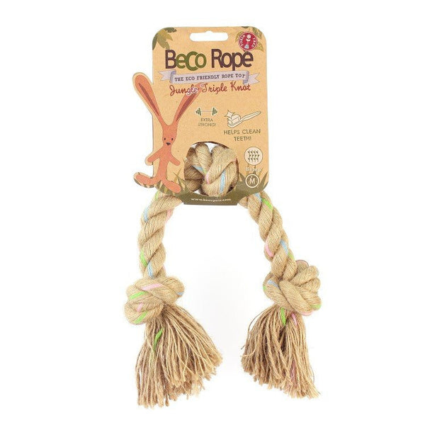 Beco | Triple Knot Rope Dog Toy