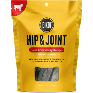 Bixbi® | Hip & Joint Beef Jerky Treats