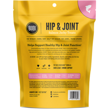 Bixbi® | Hip & Joint Salmon Jerky Treats