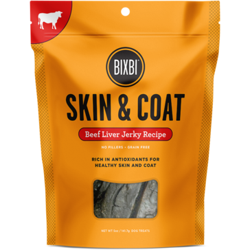 Bixbi® | Skin & Coat Beef Jerky Treats