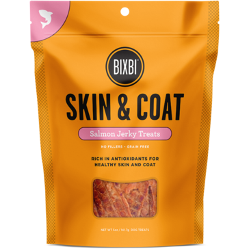 Bixbi® | Skin & Coat Salmon Jerky Treats