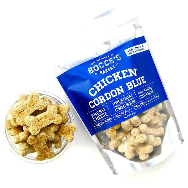 Bocce's Bakery | Chicken Cordon Blue Biscuit Treats - 8 oz