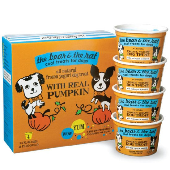 The Bear & The Rat | Pumpkin - Frozen Yogurt 4 pack