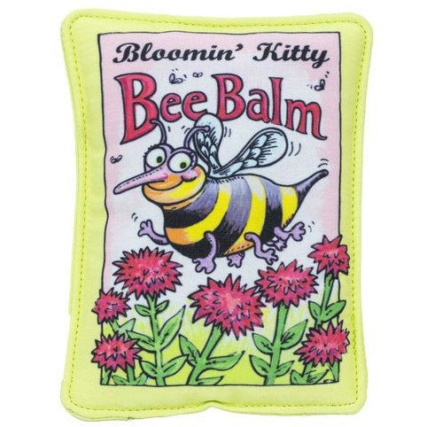 Fuzzu™ | Bee Balm Seed Packet Cat Toy