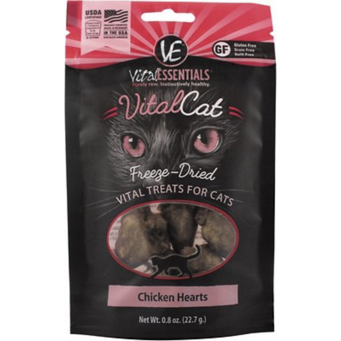 Vital Essentials | Chicken Hearts - .8 oz