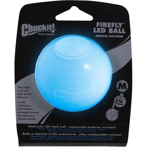 Chuckit!® | Firefly LED Ball Medium