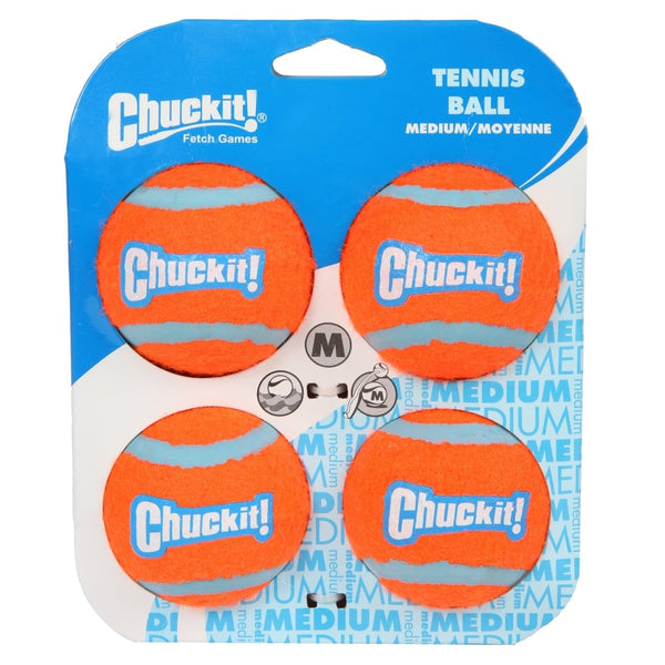 Chuckit!® | Tennis Ball 4 pack Medium