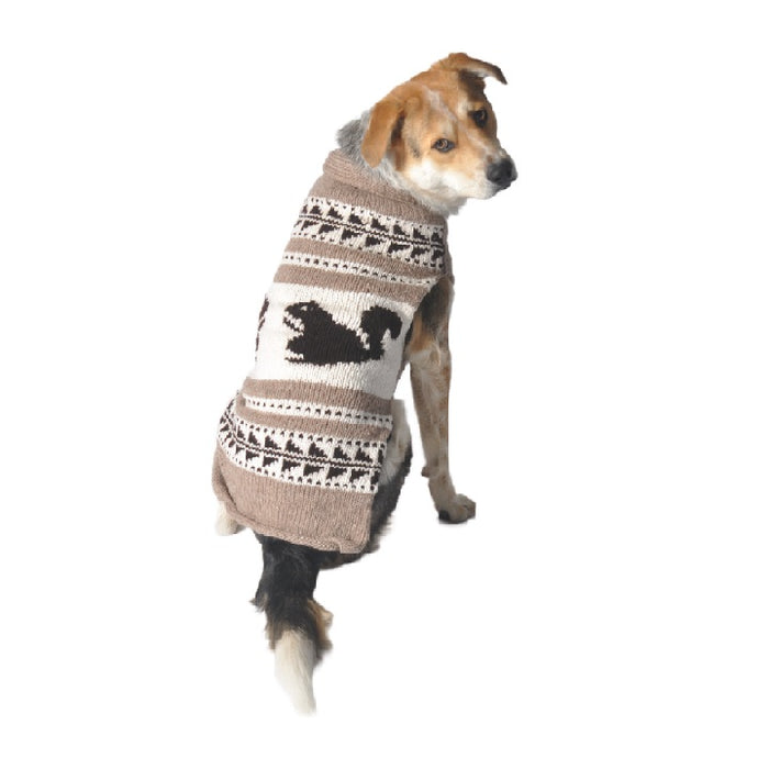 Chilly Dog - Sweater Squirrel Shawl