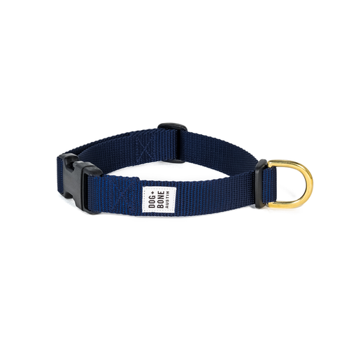 Dog + Bone | Snap Collar - Navy