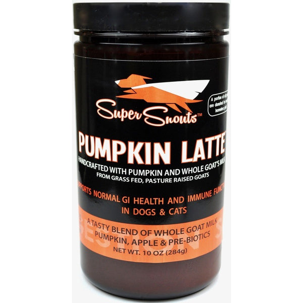 Super Snouts™ | Pumpkin Latte™ Pumpkin & Goat's Milk Supplement